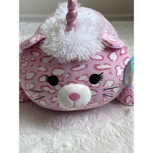"""NEW Squishmallow Laying Hug Mees Wen 18"""" The Pink"""